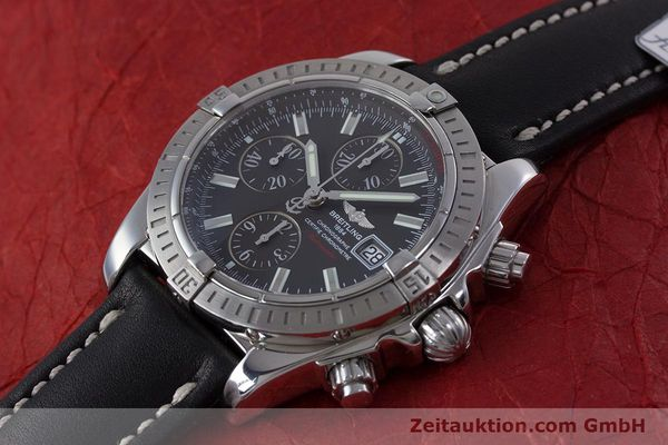 Used luxury watch Breitling Evolution chronograph steel automatic Kal. B13 ETA 7750 Ref. A13356  | 153385 01