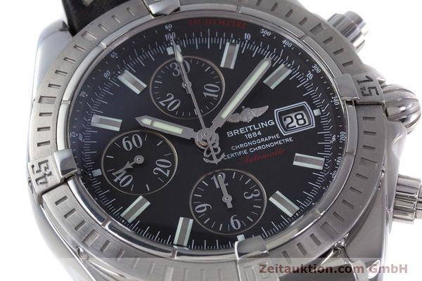 Used luxury watch Breitling Evolution chronograph steel automatic Kal. B13 ETA 7750 Ref. A13356  | 153385 02