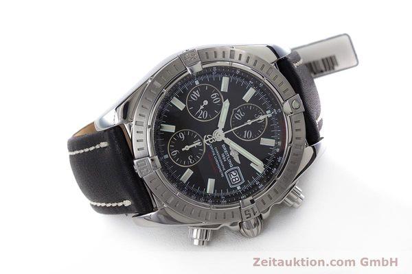 Used luxury watch Breitling Evolution chronograph steel automatic Kal. B13 ETA 7750 Ref. A13356  | 153385 03
