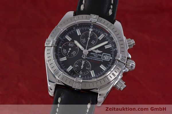 Used luxury watch Breitling Evolution chronograph steel automatic Kal. B13 ETA 7750 Ref. A13356  | 153385 04
