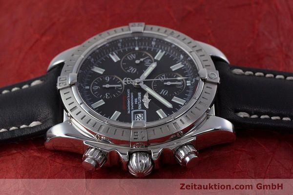 Used luxury watch Breitling Evolution chronograph steel automatic Kal. B13 ETA 7750 Ref. A13356  | 153385 05