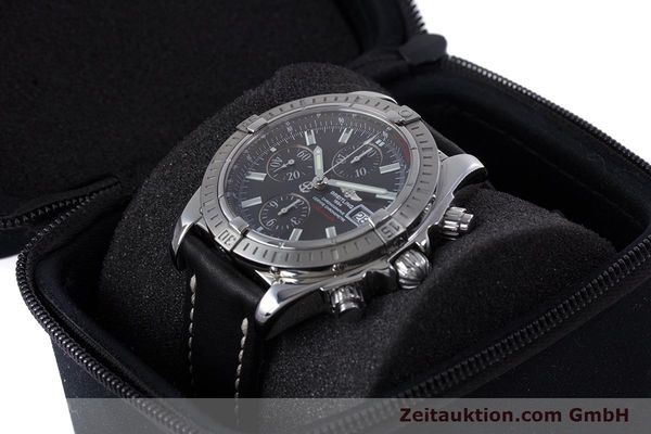 Used luxury watch Breitling Evolution chronograph steel automatic Kal. B13 ETA 7750 Ref. A13356  | 153385 07