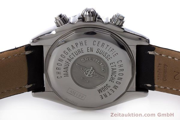 Used luxury watch Breitling Evolution chronograph steel automatic Kal. B13 ETA 7750 Ref. A13356  | 153385 09