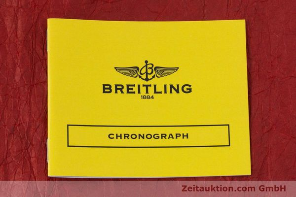 Used luxury watch Breitling Evolution chronograph steel automatic Kal. B13 ETA 7750 Ref. A13356  | 153385 11