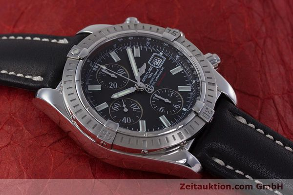 Used luxury watch Breitling Evolution chronograph steel automatic Kal. B13 ETA 7750 Ref. A13356  | 153385 14