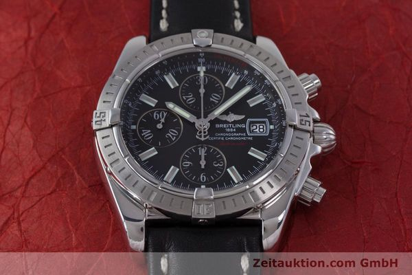 Used luxury watch Breitling Evolution chronograph steel automatic Kal. B13 ETA 7750 Ref. A13356  | 153385 15