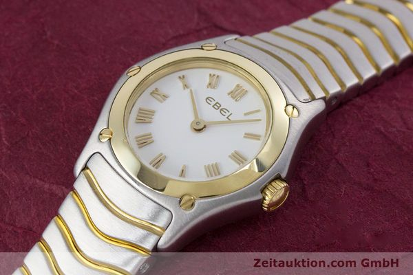 Used luxury watch Ebel Classic Wave steel / gold quartz Kal. 157 Ref. 1157F11  | 153391 01