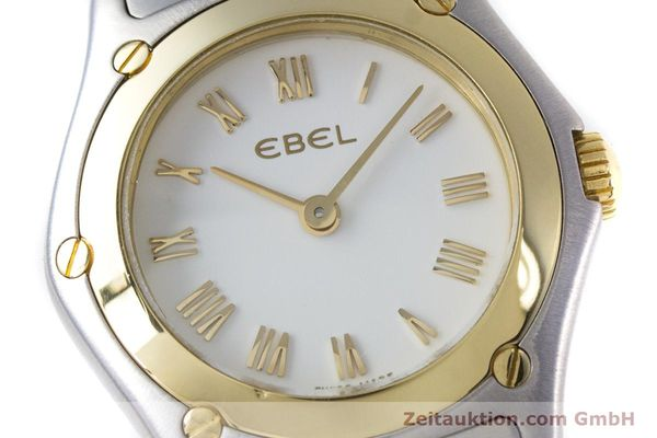 Used luxury watch Ebel Classic Wave steel / gold quartz Kal. 157 Ref. 1157F11  | 153391 02