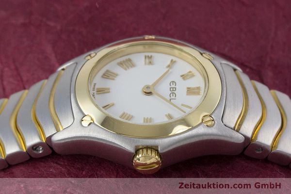 Used luxury watch Ebel Classic Wave steel / gold quartz Kal. 157 Ref. 1157F11  | 153391 05