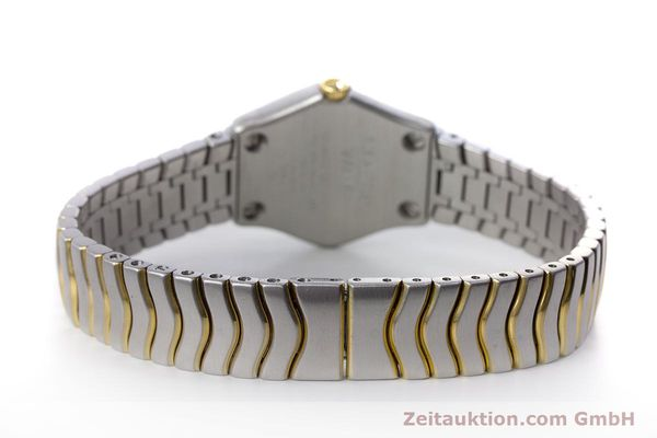 Used luxury watch Ebel Classic Wave steel / gold quartz Kal. 157 Ref. 1157F11  | 153391 10