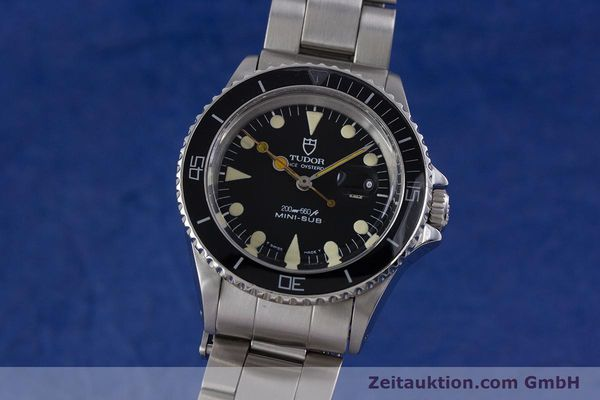 Used luxury watch Tudor Mini-Sub steel automatic Kal. ETA 2671 Ref. 94400 VINTAGE  | 153394 04