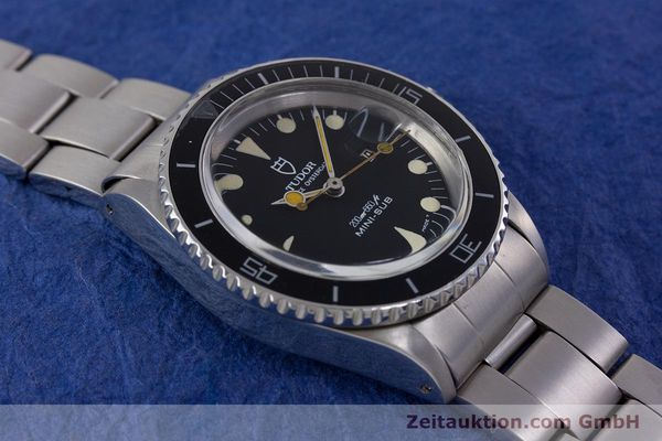 Used luxury watch Tudor Mini-Sub steel automatic Kal. ETA 2671 Ref. 94400 VINTAGE  | 153394 14