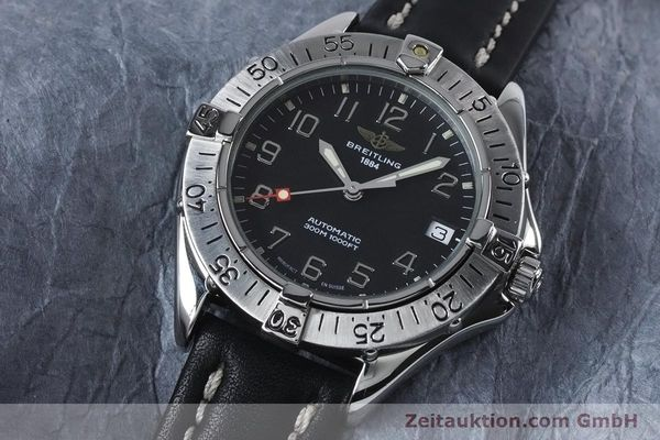 Used luxury watch Breitling Colt steel automatic Kal. B17 ETA 2824-2 Ref. A17035  | 153401 01