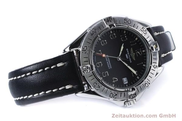 Used luxury watch Breitling Colt steel automatic Kal. B17 ETA 2824-2 Ref. A17035  | 153401 03