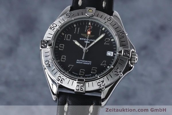 Used luxury watch Breitling Colt steel automatic Kal. B17 ETA 2824-2 Ref. A17035  | 153401 04