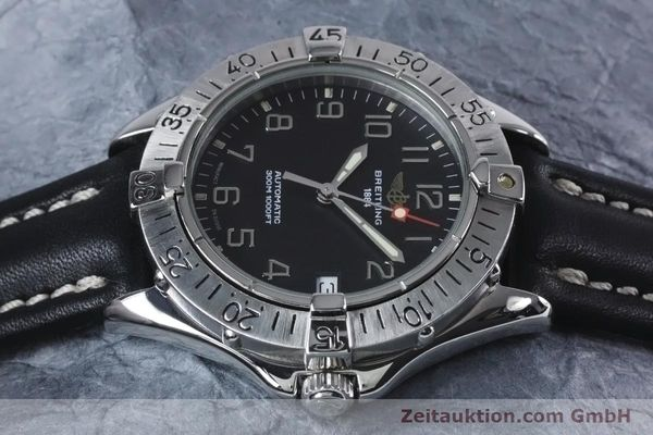 Used luxury watch Breitling Colt steel automatic Kal. B17 ETA 2824-2 Ref. A17035  | 153401 05