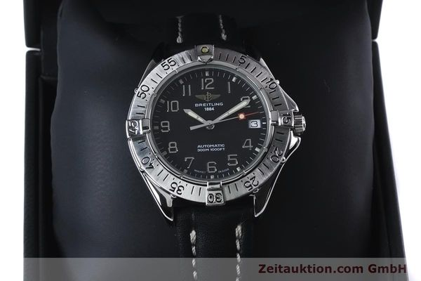 Used luxury watch Breitling Colt steel automatic Kal. B17 ETA 2824-2 Ref. A17035  | 153401 07