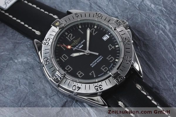Used luxury watch Breitling Colt steel automatic Kal. B17 ETA 2824-2 Ref. A17035  | 153401 12