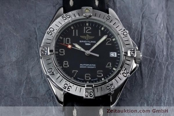 Used luxury watch Breitling Colt steel automatic Kal. B17 ETA 2824-2 Ref. A17035  | 153401 13
