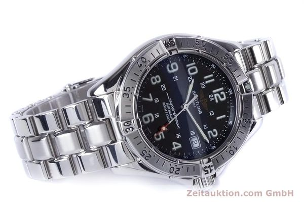 Used luxury watch Breitling Superocean steel automatic Kal. B17 ETA 2824-2 Ref. A17340  | 153417 03