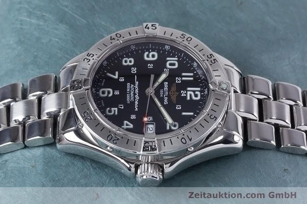 Used luxury watch Breitling Superocean steel automatic Kal. B17 ETA 2824-2 Ref. A17340  | 153417 05