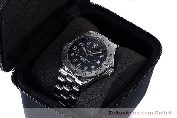 Used luxury watch Breitling Superocean steel automatic Kal. B17 ETA 2824-2 Ref. A17340  | 153417 07