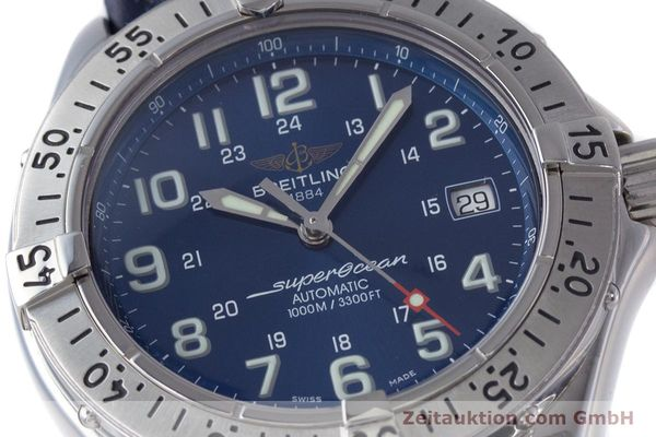 Used luxury watch Breitling Superocean steel automatic Kal. B17 ETA 2824-2 Ref. A17340  | 153420 02