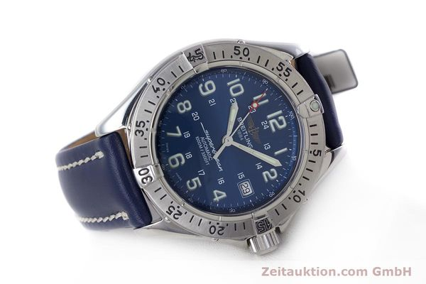 Used luxury watch Breitling Superocean steel automatic Kal. B17 ETA 2824-2 Ref. A17340  | 153420 03