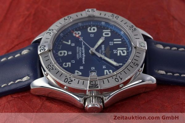 Used luxury watch Breitling Superocean steel automatic Kal. B17 ETA 2824-2 Ref. A17340  | 153420 05
