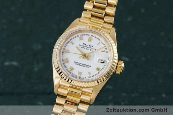 Used luxury watch Rolex Lady Datejust 18 ct gold automatic Kal. 3135 Ref. 69178  | 153429 04