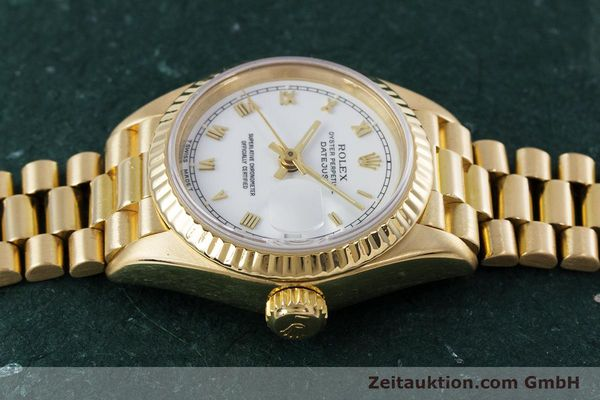 Used luxury watch Rolex Lady Datejust 18 ct gold automatic Kal. 3135 Ref. 69178  | 153429 05