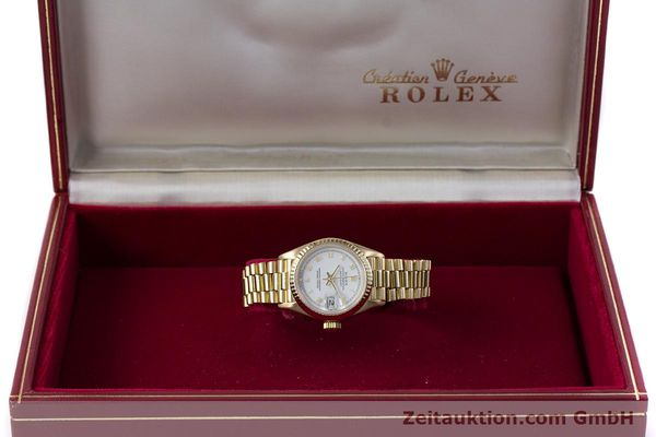Used luxury watch Rolex Lady Datejust 18 ct gold automatic Kal. 3135 Ref. 69178  | 153429 07