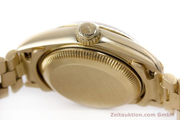 Used luxury watch Rolex Lady Datejust 18 ct gold automatic Kal. 3135 Ref. 69178  | 153429 11