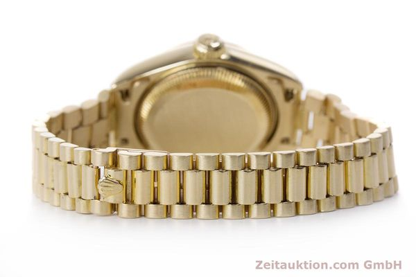Used luxury watch Rolex Lady Datejust 18 ct gold automatic Kal. 3135 Ref. 69178  | 153429 13