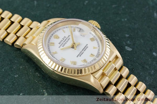 Used luxury watch Rolex Lady Datejust 18 ct gold automatic Kal. 3135 Ref. 69178  | 153429 16