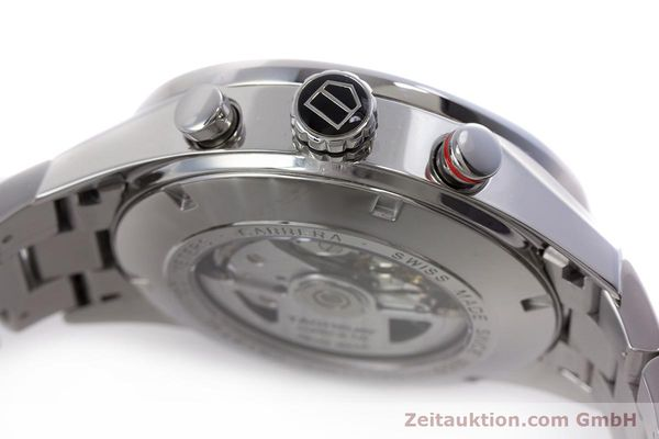 Used luxury watch Tag Heuer Carrera chronograph steel automatic Kal. 16 Ref. CV2410  | 153434 11