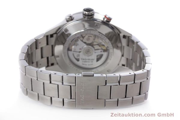 Used luxury watch Tag Heuer Carrera chronograph steel automatic Kal. 16 Ref. CV2410  | 153434 12