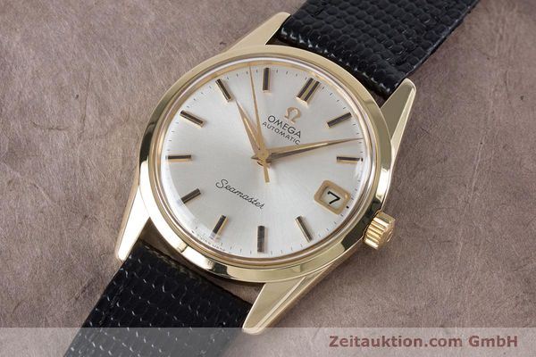 Used luxury watch Omega Seamaster 14 ct yellow gold automatic Kal. 562  | 153442 01