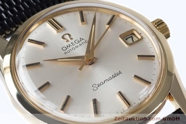 Used luxury watch Omega Seamaster 14 ct yellow gold automatic Kal. 562  | 153442 02