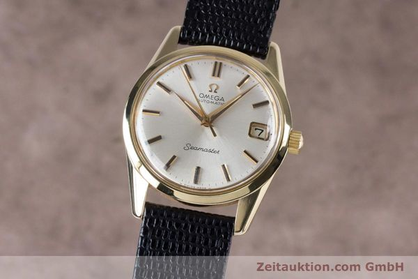Used luxury watch Omega Seamaster 14 ct yellow gold automatic Kal. 562  | 153442 04