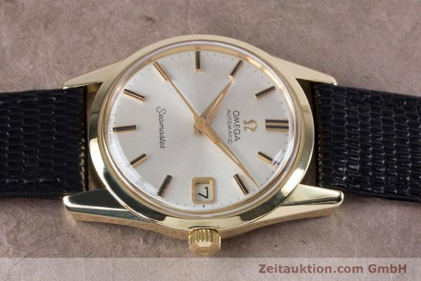 Used luxury watch Omega Seamaster 14 ct yellow gold automatic Kal. 562  | 153442 05