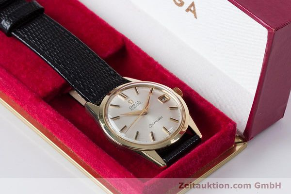 Used luxury watch Omega Seamaster 14 ct yellow gold automatic Kal. 562  | 153442 07