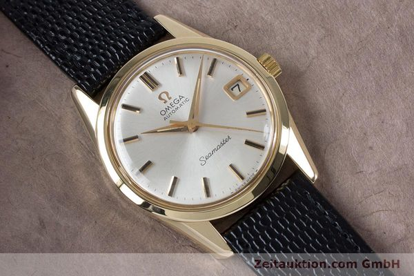 Used luxury watch Omega Seamaster 14 ct yellow gold automatic Kal. 562  | 153442 14