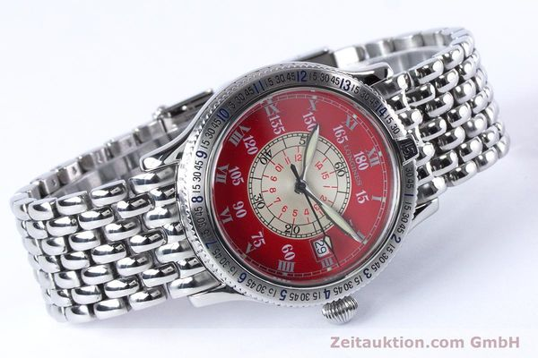 Used luxury watch Longines Lindbergh Stundenwinkel steel automatic Kal. L619.2 ETA 2892 A2 Ref. L2.617.4  | 153443 03