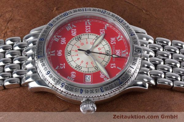 Used luxury watch Longines Lindbergh Stundenwinkel steel automatic Kal. L619.2 ETA 2892 A2 Ref. L2.617.4  | 153443 05
