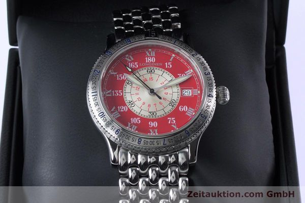 Used luxury watch Longines Lindbergh Stundenwinkel steel automatic Kal. L619.2 ETA 2892 A2 Ref. L2.617.4  | 153443 07