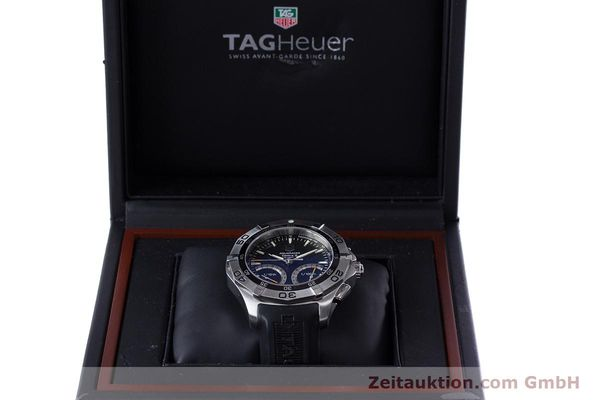 Used luxury watch Tag Heuer Aquaracer chronograph steel quartz Kal. S Ref. CAF7010  | 153449 07