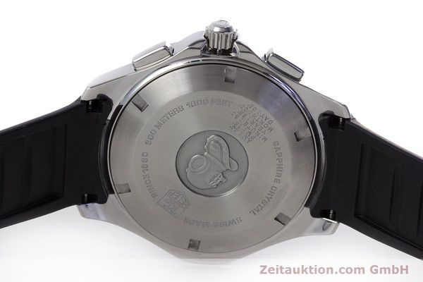 Used luxury watch Tag Heuer Aquaracer chronograph steel quartz Kal. S Ref. CAF7010  | 153449 09