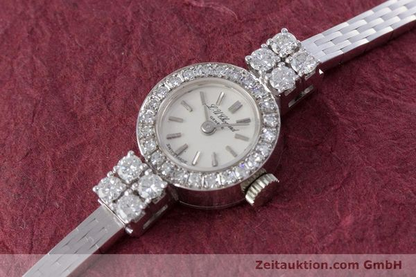 Used luxury watch Chopard * 18 ct white gold manual winding Kal. Felsa 4520 Ref. G2455  | 153450 01
