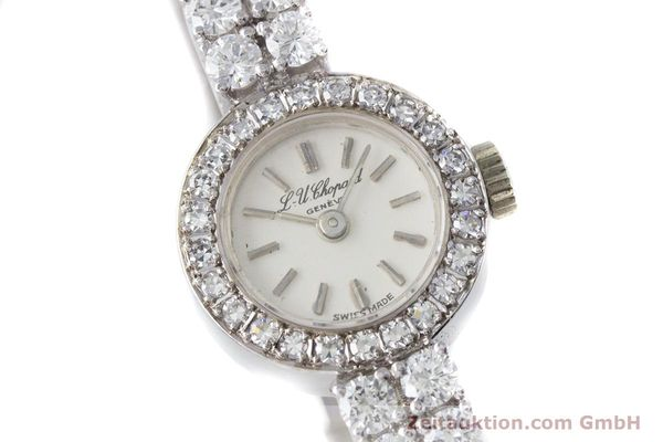 Used luxury watch Chopard * 18 ct white gold manual winding Kal. Felsa 4520 Ref. G2455  | 153450 02